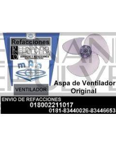 Aspa 16 pulgadas para ventilador man no original mave018
