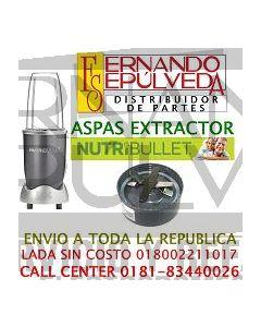 Aspas para extractor nutribullet clave 51001