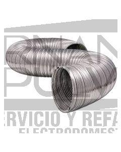 """Ducto aluminio 5"""" x 8"""" clave 36014"""
