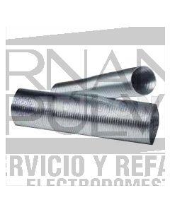 Ducto de escape de aluminio 6 x 8 flexible clave 36023