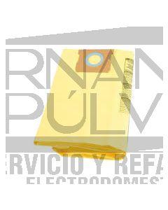 Bolsa filtro standar aspiradora 5, 6 , 8 galones 3 pza. 9066133 clave 44014