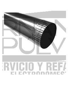 Ducto aluminio 7 x 8 2.43 mt. de largo clave 36026