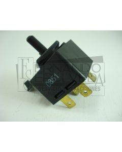 Apagador o switch push secadora Whirlpool 3395385 clave 14090