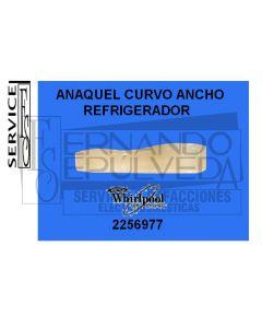 Anaquel curvo ancho para refrigerador whirlpool descontinuado