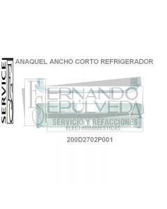 Anaquel corto ancho para refrigerador whirpool