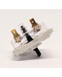 Apagador de arranque de secadora Mabe-GE 248c1146p001 clave 49706