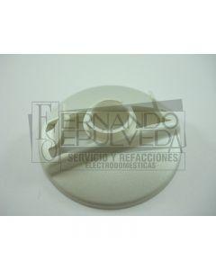 Base perilla plateada para estufa mabe clave 8782